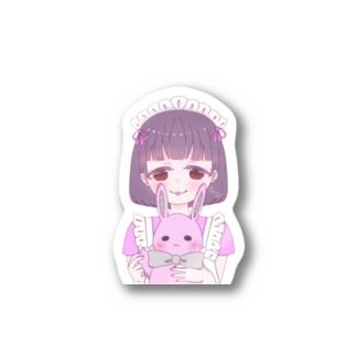 めんへらメイドちゃん Stickers