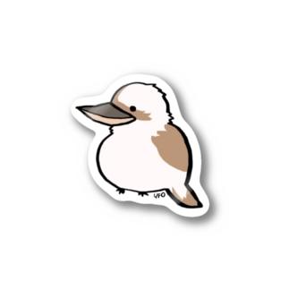 ワライカワセミ Stickers
