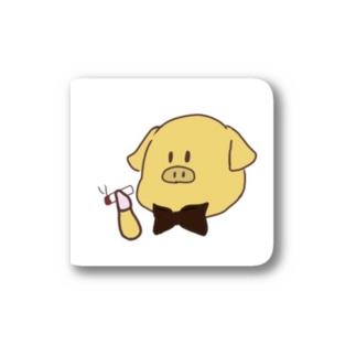 badkyoの喫煙金豚 Stickers