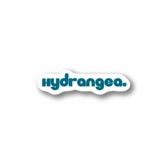 Hydrangea.ロゴ Stickers