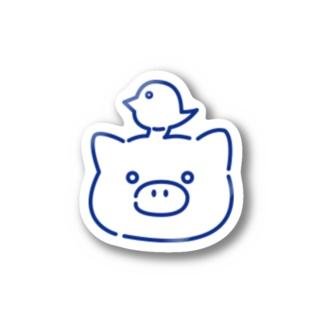 しゅげーブステッカー Stickers