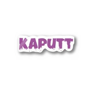 Kaputt Stickers