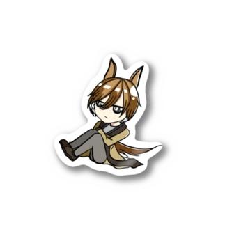 うまくんステッカー【秋】 Stickers