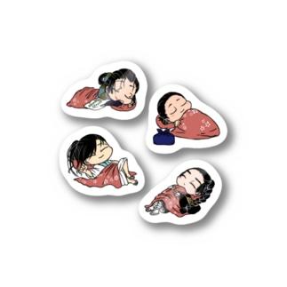 おねむり Stickers