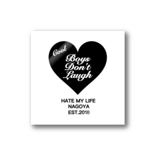 COOI BOYS DON'T LAUGH Stickers