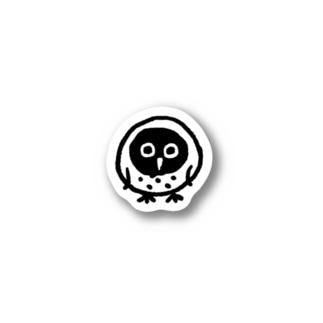 アウルくんステッカー Stickers