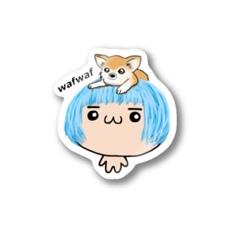 wafwafソライロ Stickers