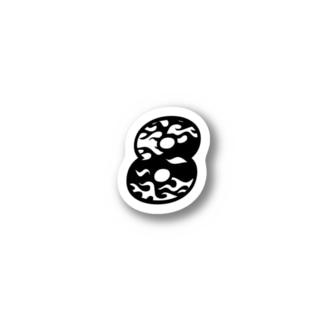 8号線 Stickers