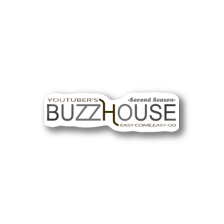 TOPSTAGEshopのBUZZ HOUSE 2nd Stickers