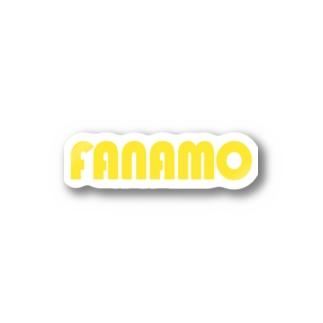 ファナモ Stickers