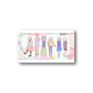 ヴァレリーチヤ6変化 Stickers