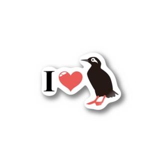 赤い足の天使★ケイマフリ Stickers