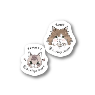SOLD OUT🎀tono & temari プチ set Stickers