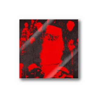 ブラックサンタクロース Stickers