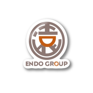 ENDO GROUP公式ロゴ Stickers