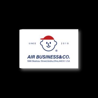 空気商売のAIRBUSINESS&CO. Stickers