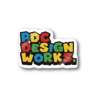 pdc_M Stickers