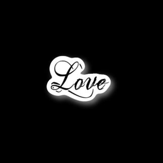 n4yaの2019 aw -LOVE- Stickers