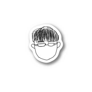 髙木ステッカー Stickers