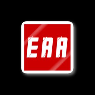 EAA!! OfficialStoreのEAA LOGOステッカー