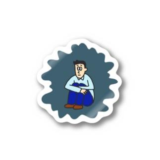 オリバーシール(根暗) Stickers