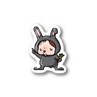 ウサギのマーちゃん  Stickers