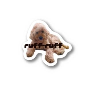ruff-ruff  Stickers