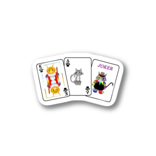 Cats × Cards Stickers