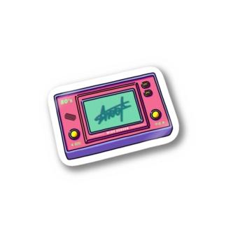 80's RETRO GAME Stickers