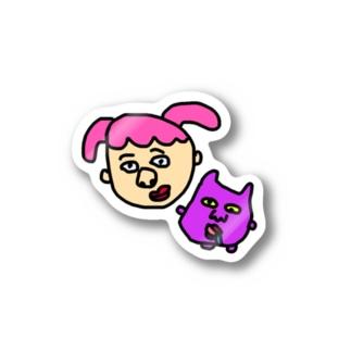 ねじとおばけ Stickers