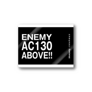 Enemy AC130 Above!!(Black) ステッカー