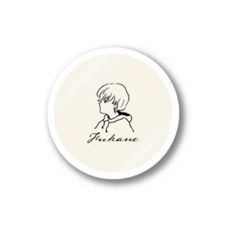 Fukane|LOGO (Off White) Stickers
