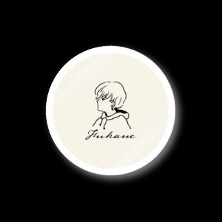 深根 / FukaneのFukane|LOGO (Off White) Stickers