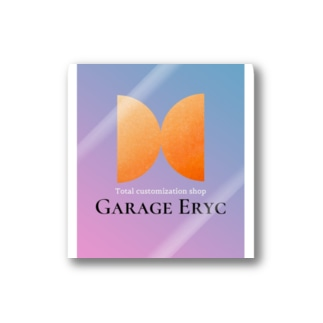 Garage Erycオリジナルグッズ Stickers