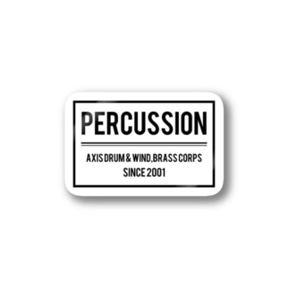 AXIS PERCUSSION Stickers