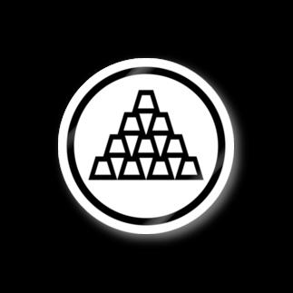 zikomanking SHOPのzikomankingオリジナル家紋 Stickers
