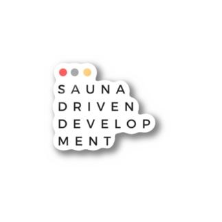 Sauna Driven Development Stickers