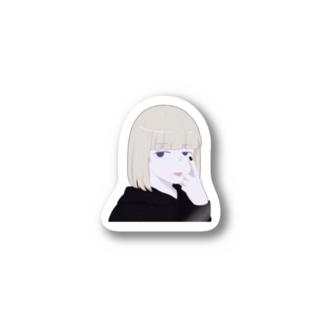 アル中カラカラ Stickers