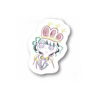 ワタシ Stickers