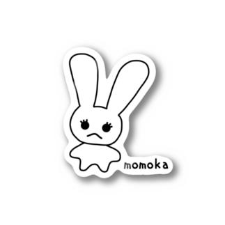 momokaグッズ Stickers