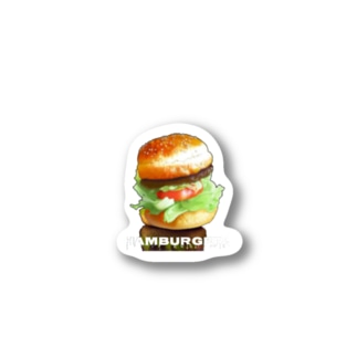hamburgers Stickers