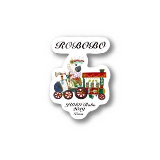 ROBOBO ジュリロボ Stickers