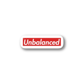 【会計監査】Unbalanced(貸借不一致)グッズ Stickers