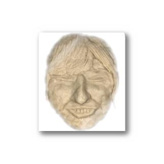 ちんすこうのデスマスク Stickers