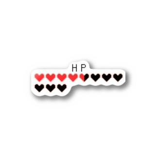HPゲージステッカー Stickers