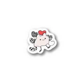 うさみみおばけ Stickers