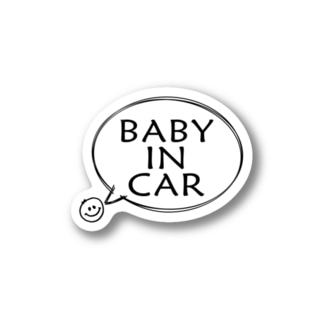 のびぞうステッカー【BABY】 Stickers