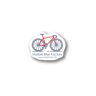 Marble Bike Factory Stickers