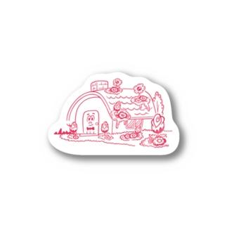 HOUSE ステッカー Stickers