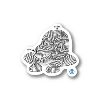 迷路(犬型宇宙船) Stickers